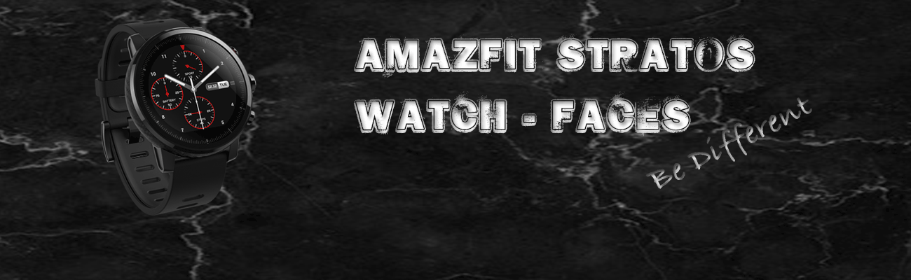 Amazfit Stratos Watch-Faces | How to Install